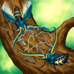 Vikavolt males ready for battle by Weirda-s-M-art