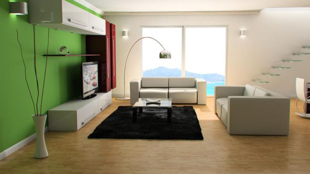 Advanced Render Modern Lounge by FiLiPpO92