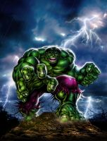 The Incredible Hulk by Simon-Williams-Art