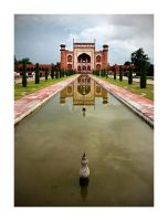 Gateway to Taj Mahal by tyt2000