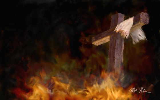 Cross Painting by amarin1