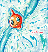 [pkmn] rotom fun! by RitsuBel