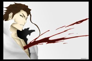 AIZEN The Unbeatable is Beaten by Barbicanboy