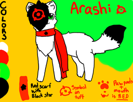 Arashi Reference -CURRENT- by Azuriite