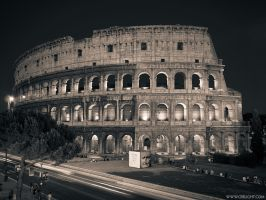 Rome in duotone. Coloseum by crelight