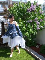 first outfit i sew 2 by Wilya12