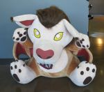 blizzard's MASSIVE wyvern plushie by SPPlushies