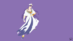 Sinbad (Magi) Minimalist Wallpaper by greenmapple17