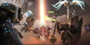 Heroes of the storm Contest by Rosolino