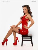 Jade V DSC 7353 red latex tumblrweb by jlrimages
