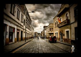calle larga by Osox