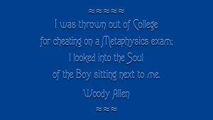 Woody Allen Quote by RSeer