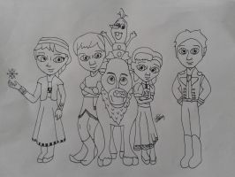 Young Disney Frozen by Zannab0801