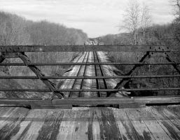 Tracks From Bridge by WeezyBlue