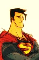 Superman Sketch by Tigerhawk01