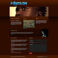 Fantazm micro-site design by scorpy-roy