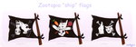 Commission Zootopia ship flags by OceRydia