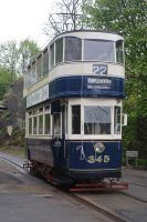Leeds City Tramways No. 345 by DingRawD