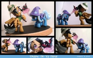 Commission: Daring Do VS Trixie by ChrisWithATa