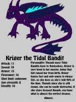 Kriger the Tidal Bandit by TheEbby