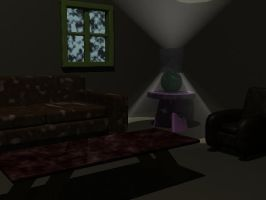Modeling Project 1: The room by BelleDraco