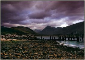 Autumnal storms,Loch Etive by ArwensGrace