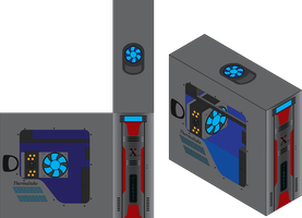 ThermalTake Xaser Iso-Vector by Jigg007
