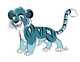 Siberian Tiger Adoptable Auction SOLD by Miss-Melis
