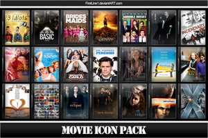 Movie Icon Pack 37 by FirstLine1