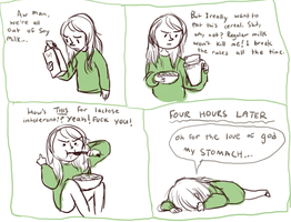 i'm kind of in denial about my lactose intolerance by starsweep