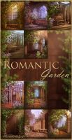 Romantic Garden backgrounds by moonchild-ljilja