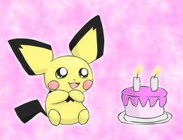 Sparks turns 2 by pichu90