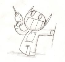 Robo Doodle by Ruby229