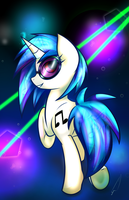 Vinyl Scratch by Celliron