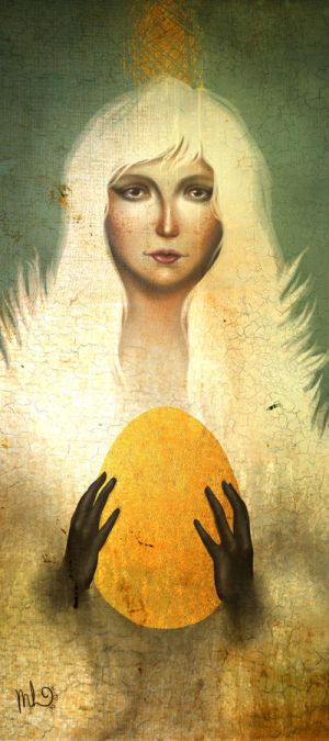 The Goose That Laid the Golden Eggs by mahtte
