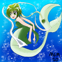 Mermaid Lettuce by MegaGundamMan