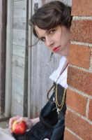 Steampunk Beauty with Apple Stock III by kndrwllmsn