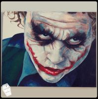 Joker Oil Painting 4 by akumuink