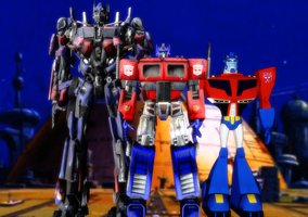 Optimus Prime Generations by mattwo