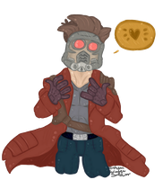 Star Lord by BrokenWinterSoldier