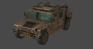 RE6 HUMVEE by Oo-FiL-oO