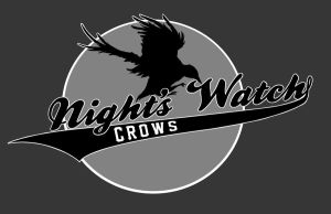 Night's Watch Baseball Team by Electricalivia