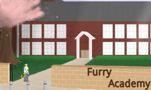 Furry Academy Banner by KidDeath3000