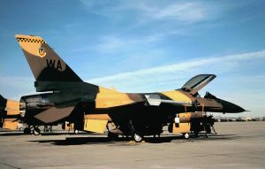 64 AGRS F-16C No. 1 by F16CrewChief