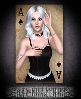 ~Ace Creators~ Queen of Spades by D3N1ZFTW