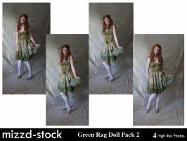Green Rag Doll Pack 2 by mizzd-stock