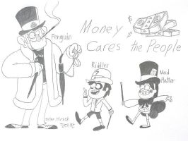 Money Cares the People by komi114