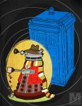 The Fourth Doctor Dalek by MeghanMurphy