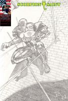 sketch cover scorpion saint issue #1 by UltimateInker