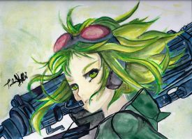 Girl with Guns by xxtretrexx